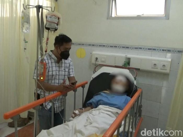 Korban yang digorok teman kencan di Kendal, Selasa (25/5/2021).