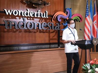 Menparekraf Sandiaga Uno Jelaskan Konsep Work From Bali