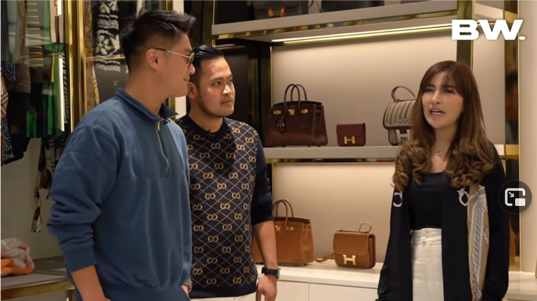 Pasangan 'Crazy Rich Malang' Gilang Widya Pramana dan Shandy Permanasari