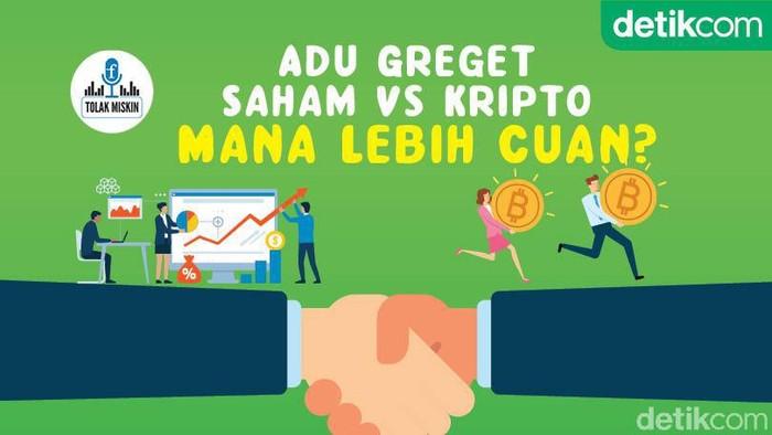 Podcast: Adu Greget Saham Vs Kripto, Mana Lebih Cuan?
