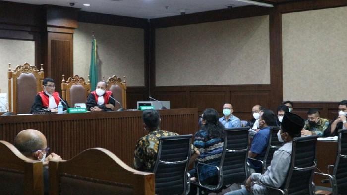 Sidang kasus suap Edhy Prabowo, Selasa (25/5)-(Zunita-detikcom)