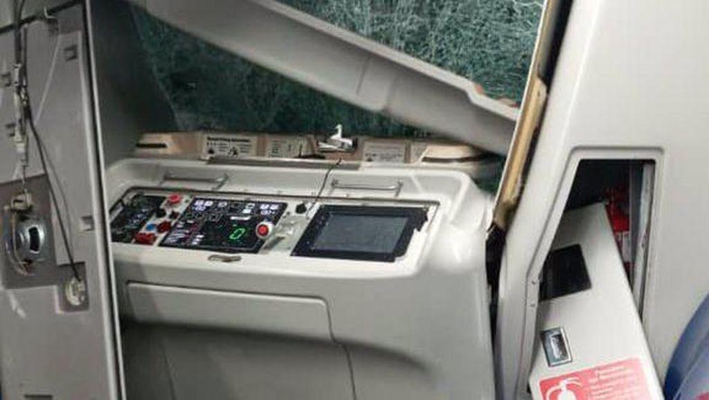Kereta LRT Malaysia Tabrakan di Terowongan, Diduga Ada Miskomunikasi