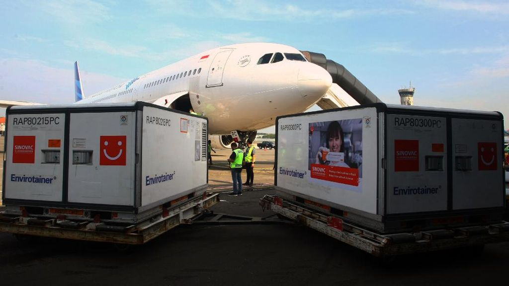 8 Juta Vaksin Sinovac Kembali Mendarat di Indonesia