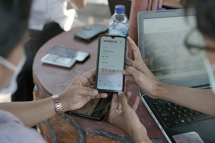 Wonderin.id, platform digital untuk travel dan tourism Indonesia yang dikembangkan Telkom.