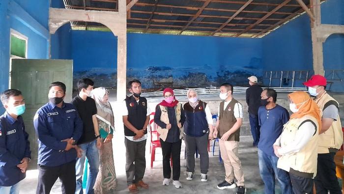Bawaslu RI cek persiapan pengawasan PSU PIlgub Jambi di Kerinci (Tiara Aliya-detikcom)