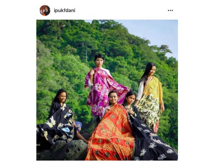 Bupati Banyuwangi Promosikan Batik Bermotif Filosofi Ajaran Buddha
