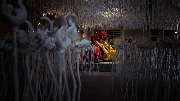 Berkaya lebih dari 20 tahun, Piccinini dirasa sukses dengan pamerannya kali ini.