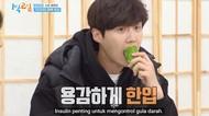 Kim Seon Ho Pertama Kali Cicip Pare, Begini Reaksi Lucunya!