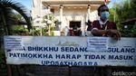 Momen Sakral Puncak Waisak di Jakarta Utara