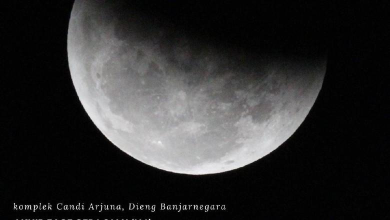 Pengamatan gerhana bulan total oleh BMKG Banjarnegara