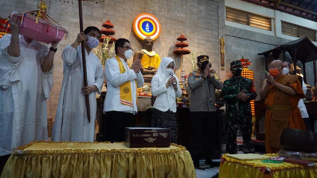 Perayaan Waisak Maha Vihara Mojopahit di Masa Pandemi COVID-19