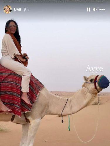 Rachel Vennya liburan di Dubai