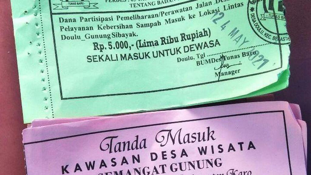 Warga Protes Tiket Masuk Wisata Sidebuk-debuk Sumut Kemahalan