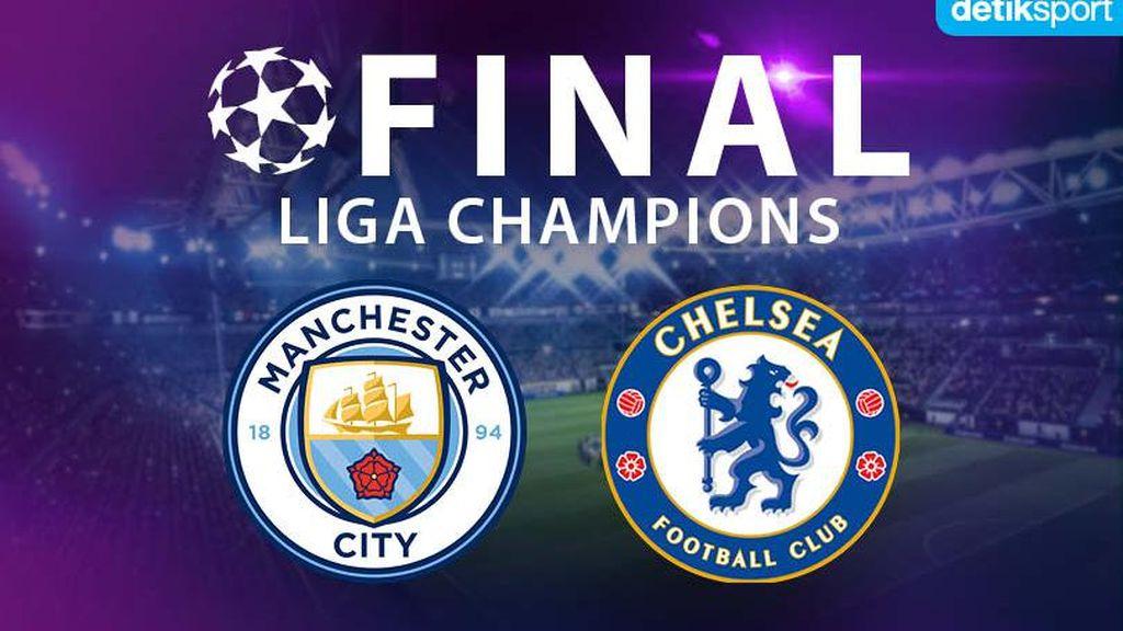 Prediksi Final Liga Champions: detikers Unggulkan Chelsea atas City