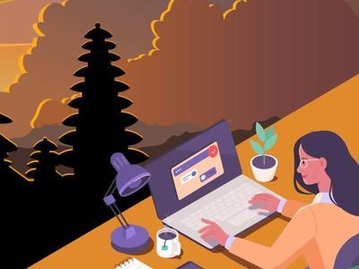 Nusa Dua Dipilih Jadi Tempat Work From Bali