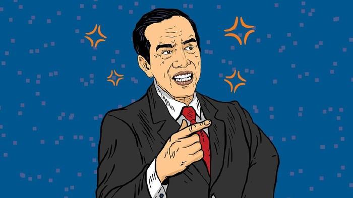 Infografis 4 masalah yang bikin Jokowi naik darah