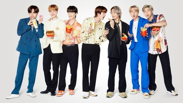 Kolaborasi BTS dan McDonalds