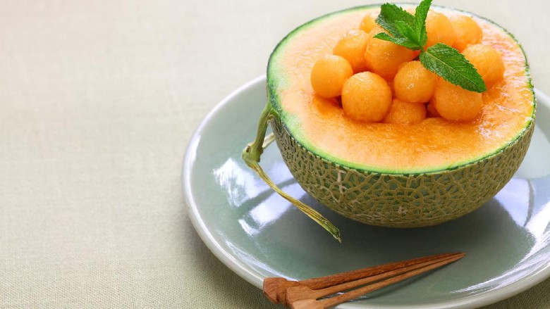 japanese luxury melon, king ruby
