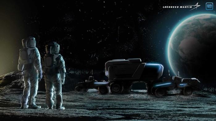 Mobil Penjelajah Bulan General Motors untuk Nasa