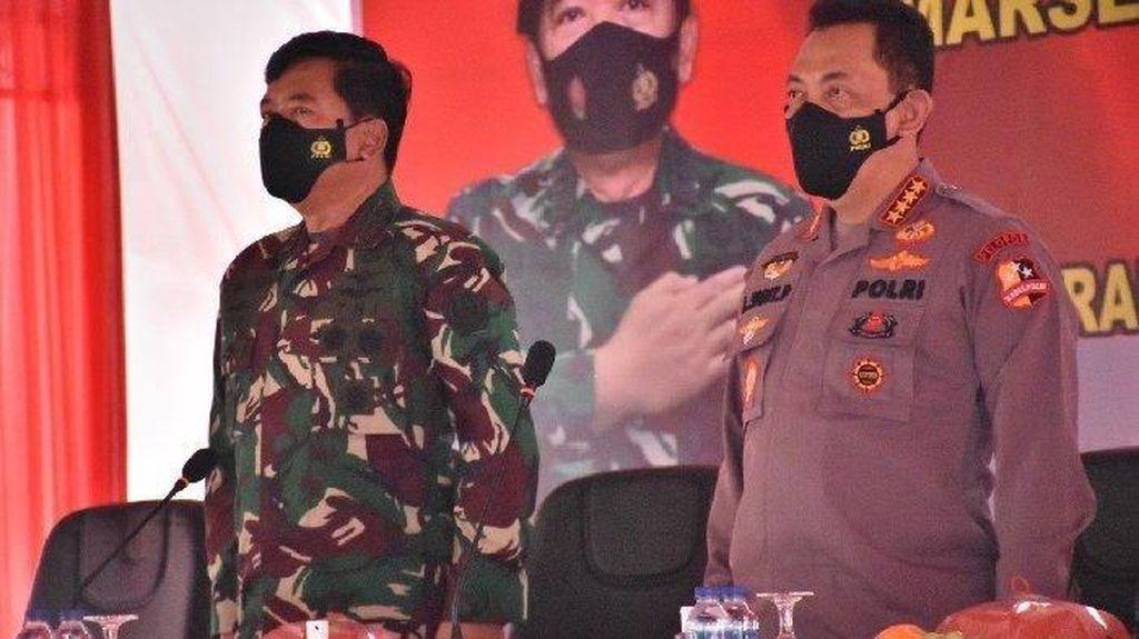 Pesan Penting Panglima TNI-Kapolri ke Satgas Madago Raya di Sulteng