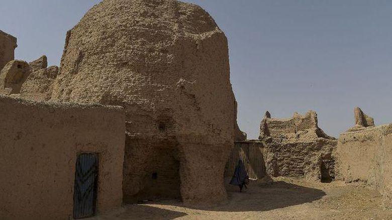 Komplek istana musim dingin Qala-e-Kohna di Afghanista. (AFP/WAKIL KOHSAR)