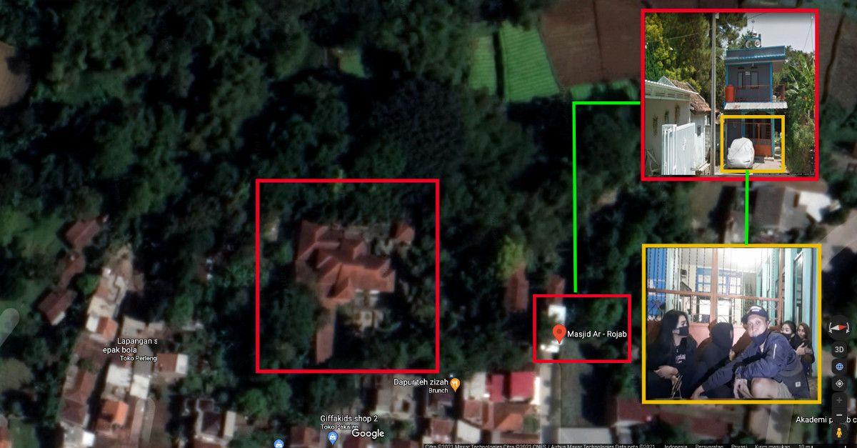 Rumah Mewah dan Mobil Terbengkalai di Bandung