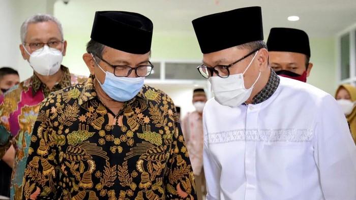 Ketum PAN Zulkifli Hasan berkunjung ke Semarang. Dalam acara itu, Wakil Ketua MPR RI tersebut bertemu dengan Pimpinan Wilayah Muhammadiyah (PWM) Jawa Tengah.