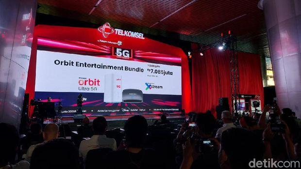 Peluncuran Telkomsel 5G