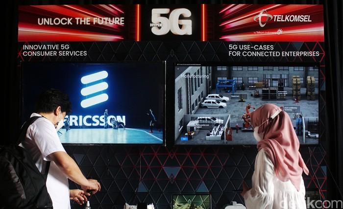 Telkomsel menjadi provider pertama yang menerapkan 5G di Indonesia dengan mengusung tema 5G Unlock The Future yang resmi diluncurkan hari ini, Kamis (27/5/2021).