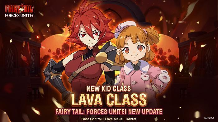 Update Terbaru Fairy Tail: Forces Unite! Hadirkan Class Lava untuk Anak