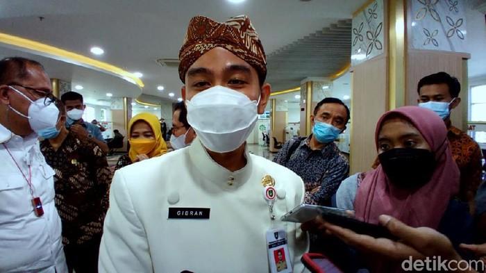 Wali Kota Solo, Gibran Rakabuming Raka, Kamis (27/5/2021).