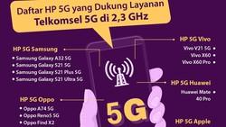 Daftar HP 5G yang Sudah Tersedia di Indonesia