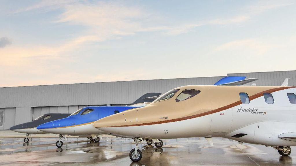 Honda Update Pesawat Jet Larisnya Seharga Rp 71 Miliar, Makin Canggih dan Efisien