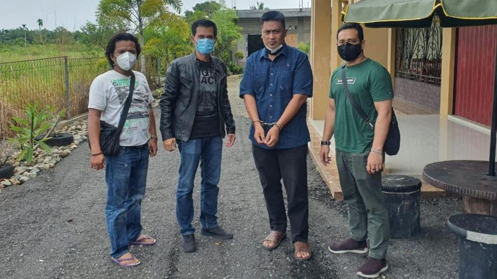 Otak Teror Kepala Anjing di Rumah Pejabat Kejati Riau Ditangkap!