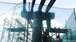 Pembangunan Skybridge CSW Terus Dikebut