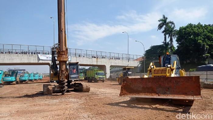 Pembangunan Tol Cijago Kukusan-Cinere