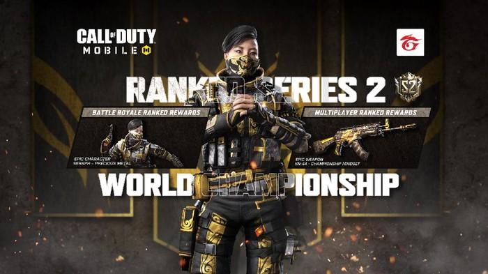 Ranked Series Baru Cal of Duty: Mobile Dimulai, Yuk Push Rank Lagi!