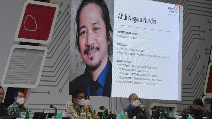 FILE FOTO: Abdee Negara atau yang dikenal dengan Abdee Slank didapuk menjadi komisaris Telkom.