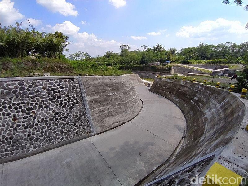 Sabo Dam Nglumut di Magelang