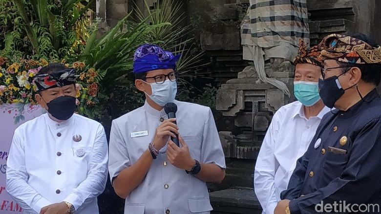 Sandiaga Uno di Bali