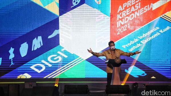 Launching Apresiasi Kreasi Indonesia berlangsung di Kementerian Pariwisata dan Ekonomi Kreatif. Dalam peluncuran itu Sandiaga mengatakan, dengan adanya ajang Apresiasi Kreasi Indonesia 2021 diharapkan dapat memberi kesempatan bagi masyarakat untuk dapat meningkatkan pengetahuan dengan pelatihan kewirausahaan dan mentoring.