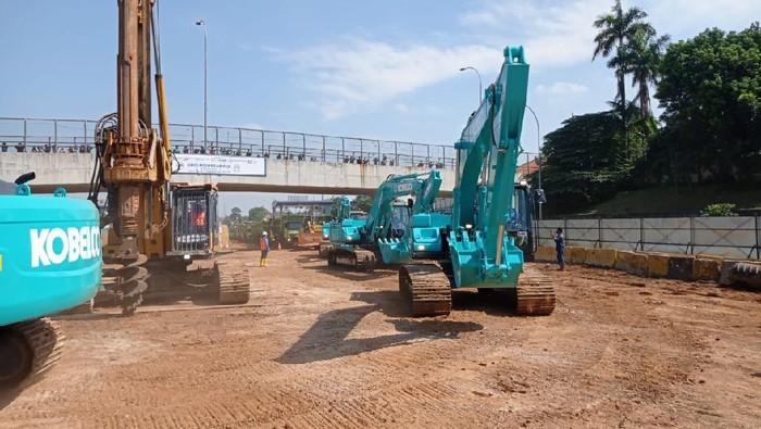 Tol Cijago seksi 3 yang menghubungkan Kukusan-Cinere akhirnya dibangun
