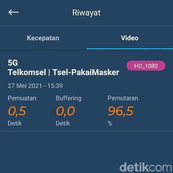 Di sela-sela peluncuran 5G di Indonesia secara komesial, detikINET melakukan uji kecepatan internet 5G tersebut.
