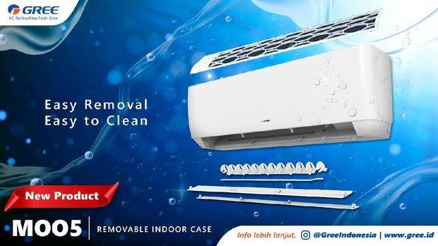 Produsen AC Global Gree menghadirkan produk AC terbaru yang dapat membersihkan secara otomatis. Produk Gree seri GWC-MOO5 hadir untuk menjawab kebutuhan konsumen akan AC tipe standard yang sehat, namun tetap ingin merasakan manfaat utama, seperti pendinginan ruangan yang cepat dengan harga terjangkau.