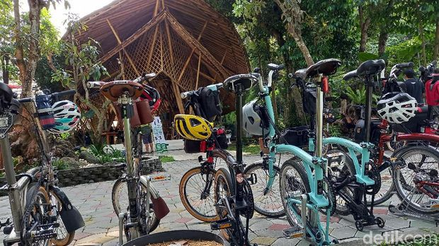 Bersepeda atau gowes di Yogyakarta