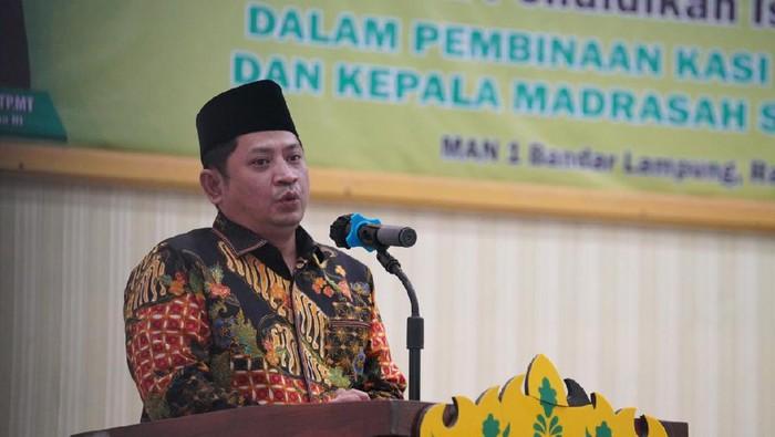 Dirjen Pendidikan Islam Muhammad Ali Ramdhani