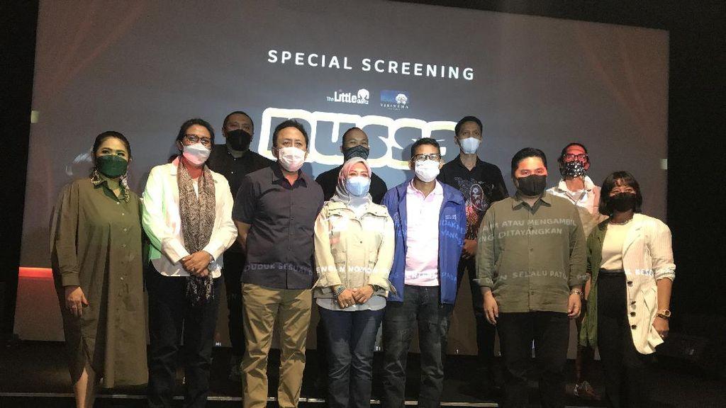 Nonton di Bioskop, Sandiaga: Prokes Ketat dan Disiplin
