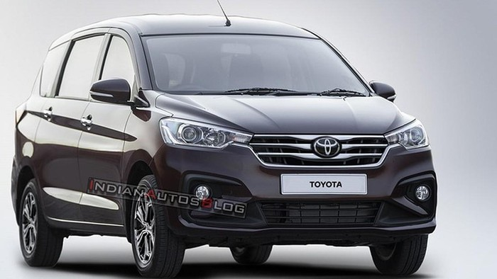 Penampakan mobil baru Toyota berbasis Suzuki Ertiga