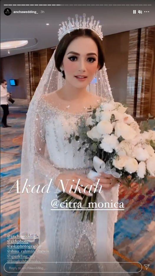Pernikahan Citra Monica dan Ifan Seventeen