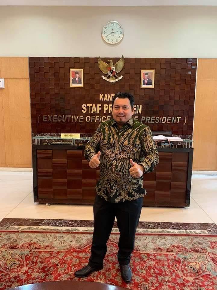 Ade Irfan, Tenaga Ahli Utama KSP (Dok. Pribadi)